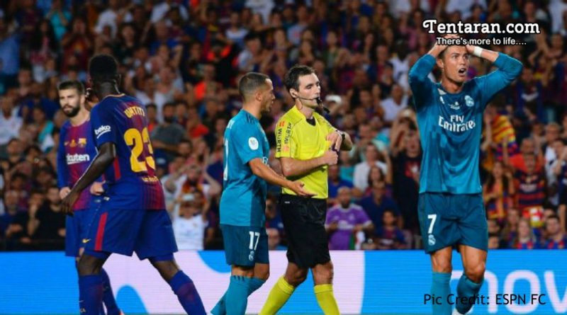Cristiano Ronaldo Hit With 5 Match Ban For Pushing Referee