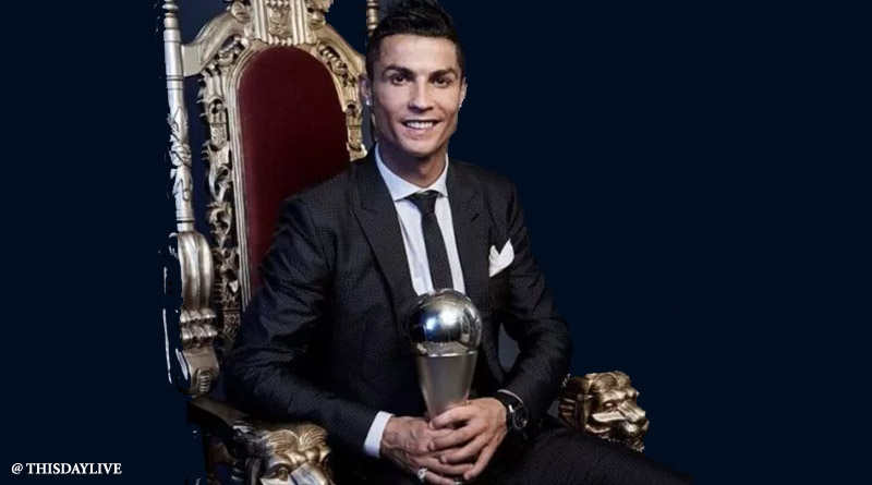 Ronaldo Wins fifth Ballon d'Or To Equal Messi's Record