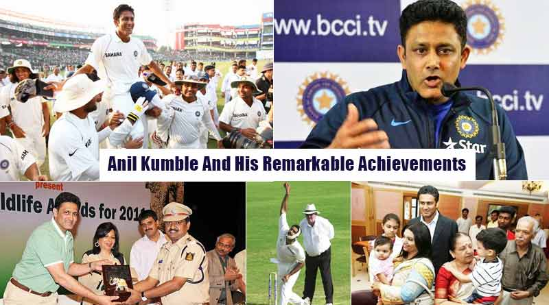 Anil Kumble And His Remarkable Achievements