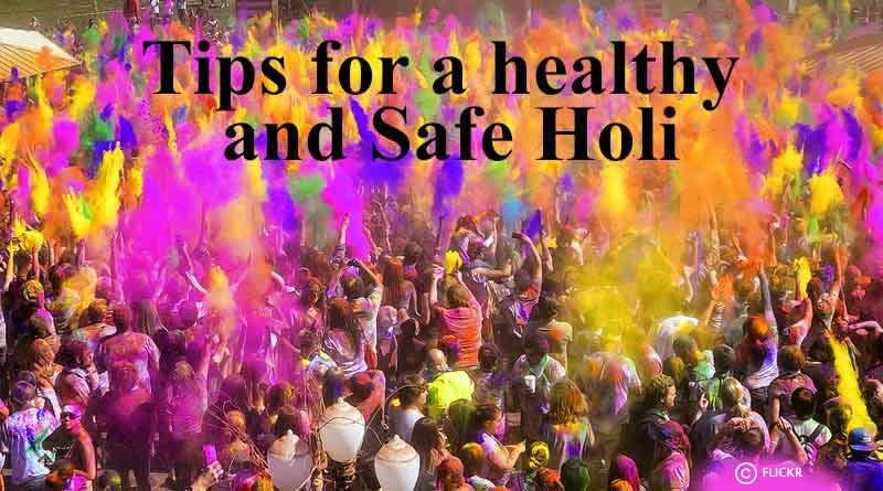 tips for healthy and safe holi