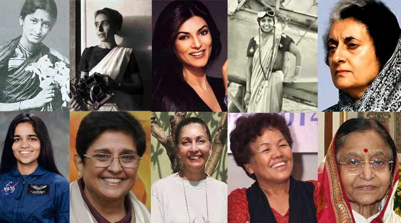 Firsts of Indian women