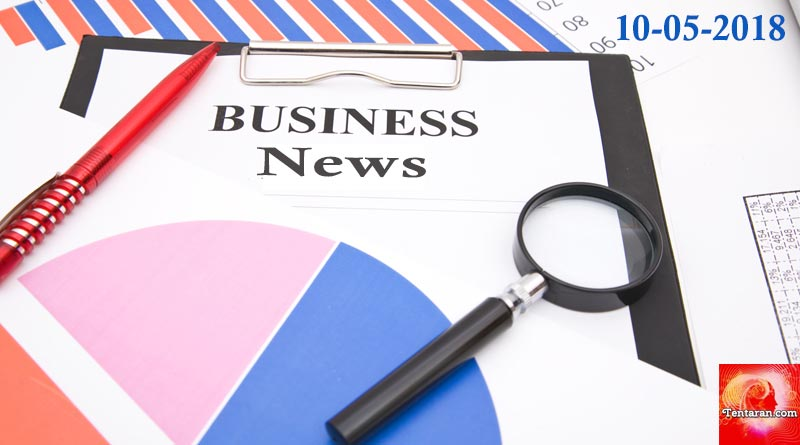 latest India business news headlines 10th May 2018