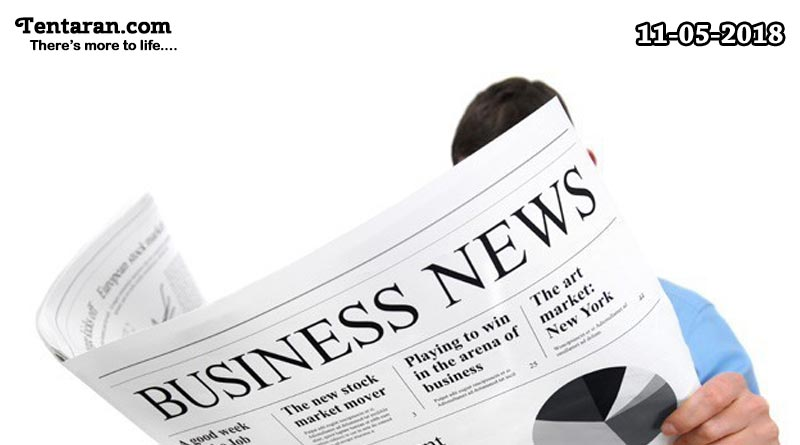 latest India business news headlines 11th May 2018