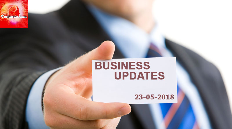 latest India business news headlines 23rd May 2018