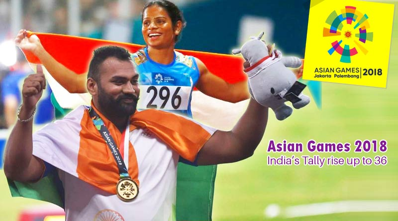Asian Games 2018 Day 8