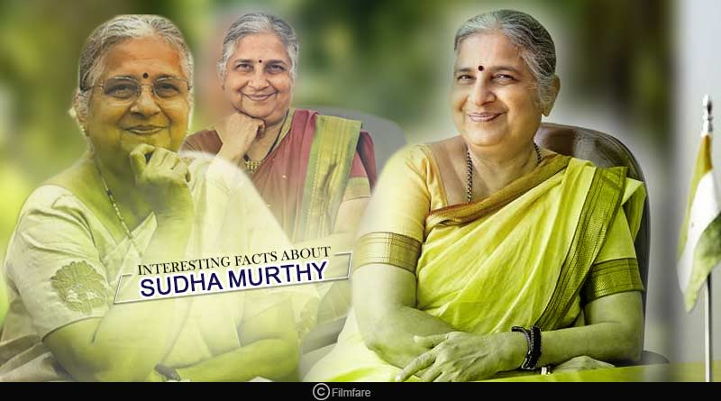 interesting facts about Sudha Murthy