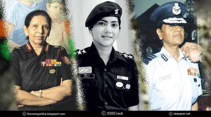 brave women in the Indian army