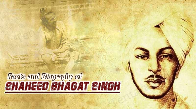 facts and biography of shaheed bhagat singh