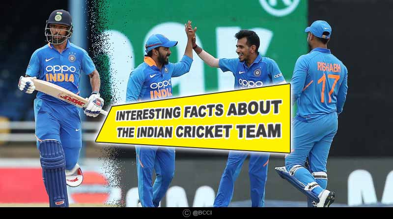 indian cricket team facts