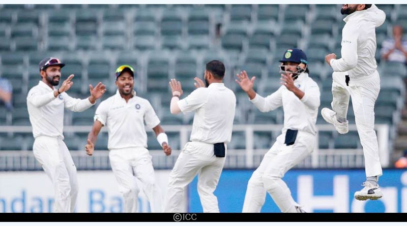 india vs south africa test 2018