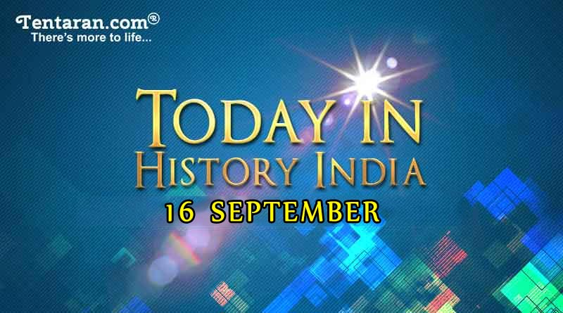 16 september in indian history image
