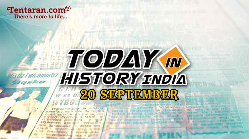 20 september in indian history image