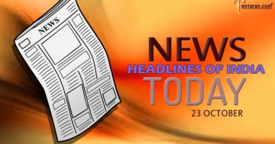 News Headlines Today in English: Read News Headlines of India today 23 October 2021