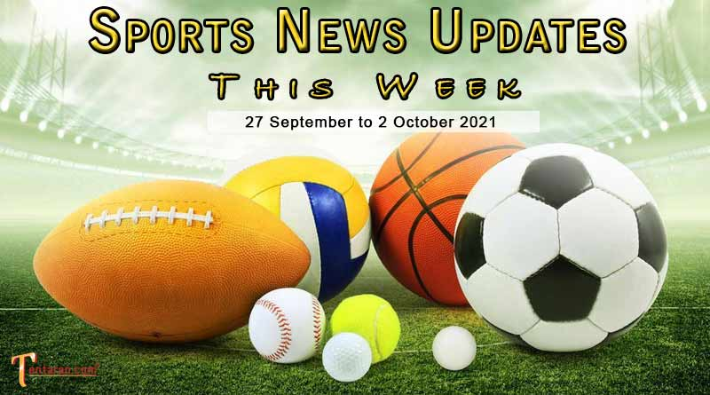 sports weekly roundup 27 september to 2 october 2021
